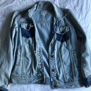 Melrose and Market Distressed jean jacket